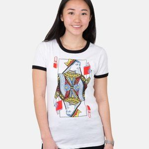 NWT Out of Print Queen of Books Shirt